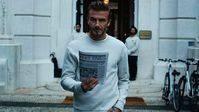 David Beckham en la nueva campaña Modern Essentials para H&M