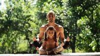 Yoga con papá: Ellos también quieren ser yoguis