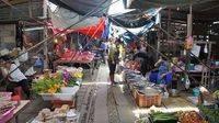 El mercado de la muerte en Tailandia