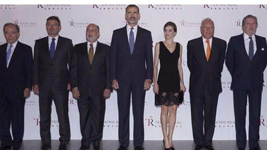 Sus Majestades los Reyes presiden la inaguración de la temporada del Teatro Real