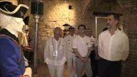 El Rey visita la exposición 'Blas de Lezo y la defensa de Cartagena de Indias'
