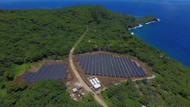 Ta´u la isla que se abastece completamente de energía solar