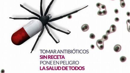 Por el uso prudente de los antibióticos.