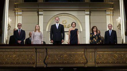 Sus Majestades los Reyes presiden la inaguración de la temporada 2018-2019 del Teatro Real