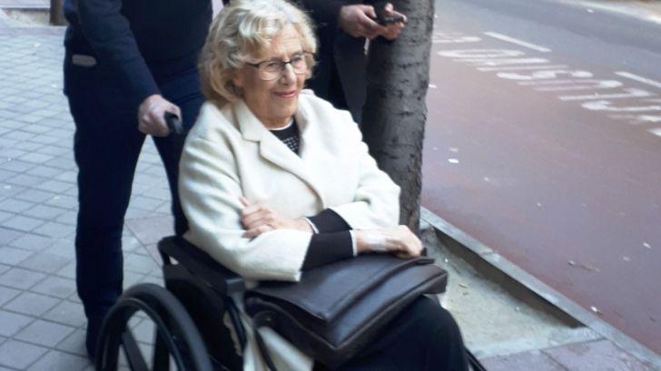 Carmena, tras ser ingresada: 'En cuanto pueda me incorporaré al trabajo'