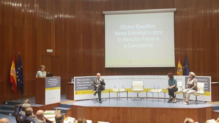 Carcedo presenta la Oficina Ejecutiva para el Marco Estratégico para la Atención Primaria y Comunitaria