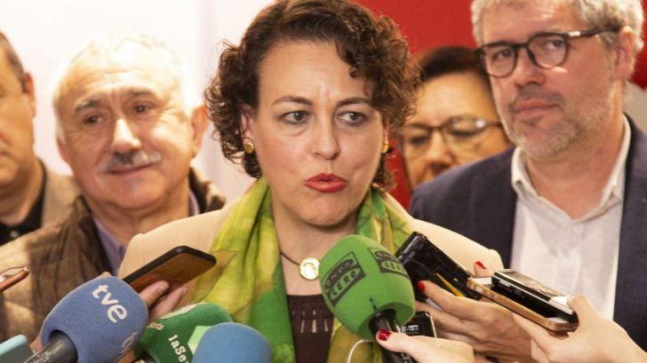 Valerio confirma la intención del PSOE de revalorizar las pensiones según el IPC real