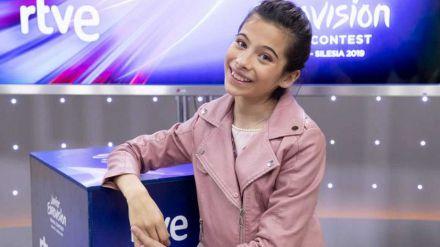 Melani, protagonista de la carroza de RTVE en la Cabalgata de Reyes