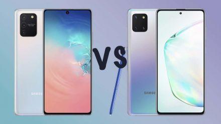 Así son los nuevos Galaxy S10 Lite y Note10 Lite de Samsung