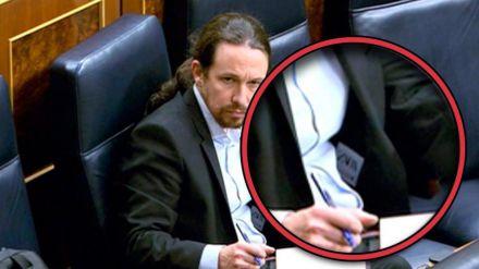 Pablo Iglesias sorprende vistiéndose de 'Zara' en el Congreso