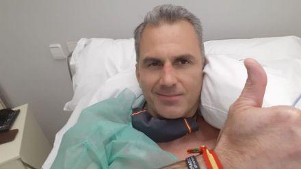 Coronavirus: Ortega Smith ingresado de urgencia con trombos en una pierna y los pulmones