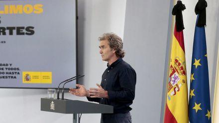 Fernando Simón: 'Algunas reuniones sociales han podido ser el origen de algunos brotes locales'