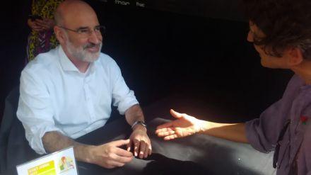 Fernando Aramburu, sobre el cartel de HBO criticado por las víctimas: 'Me parece un desacierto'