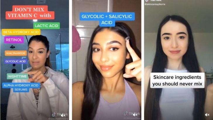 Tips (falsos) sobre cosmética vistos en TikTok