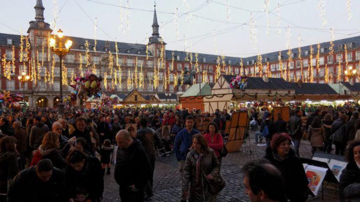Madrid intentará salvaguardar el espíritu navideño con su tradicional mercado