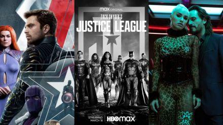 'Sky Rojo', 'La Liga de la Justicia de Zack Snyder' y 'Falcon y el Soldado de Invierno' encabezan los estrenos de la semana