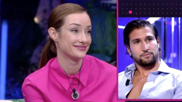Adara Molinero nueva concursante de 'La casa de los secretos' y su tonteo con Gianmarco