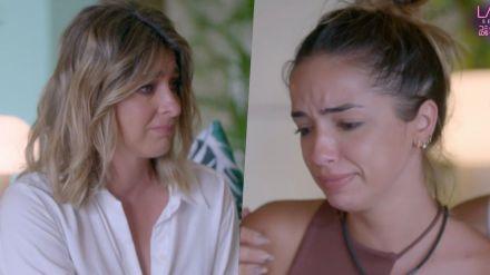 Sandra Barneda se emociona al dar a conocer a Lucía la infidelidad de su pareja