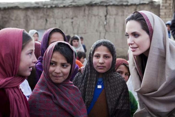 Angelina Jolie pide un alto el fuego en Yemen