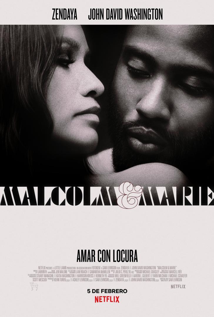 Trailer de 'Malcolm & Marie' de Netflix con Zendaya y John David Washington