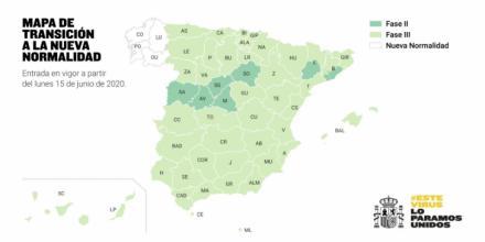 10 millones de españoles progresarán a la 'Fase 3' el próximo lunes