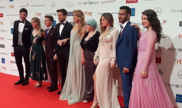 Los concursantes de 'OT 2017' en los Premios Forqué