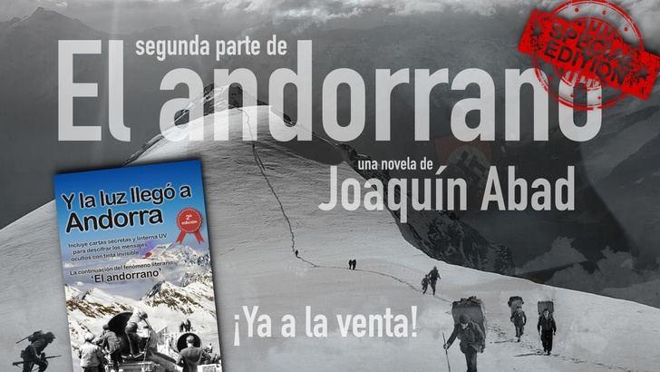 'Y la luz llegó a Andorra', el libro de Joaquín Abad que viene con una linterna de regalo…